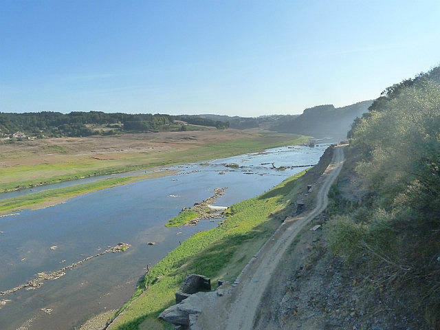 Portomarin river