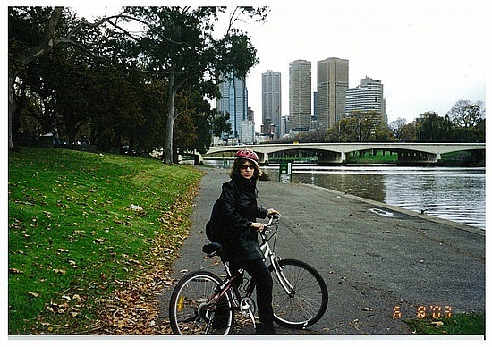 Bike Riding by the Yarra