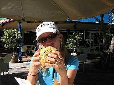 Nothing beats an aussie burger