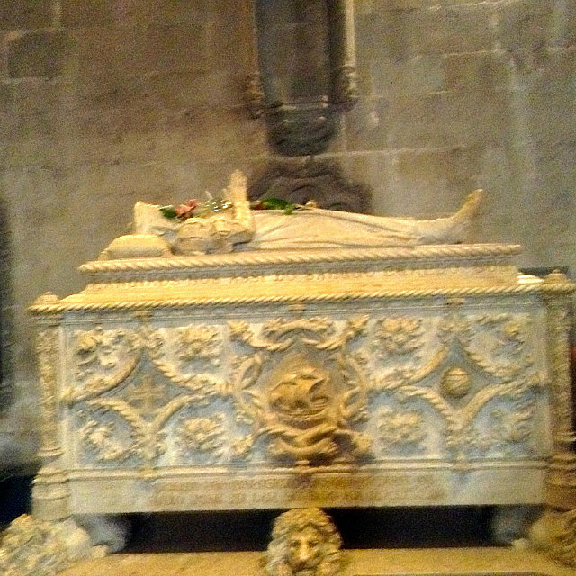 Vasco De Gama's coffin