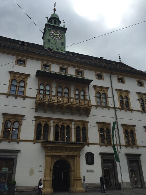 Landhaus for parliament