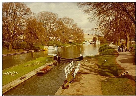 Lock in Cambridge