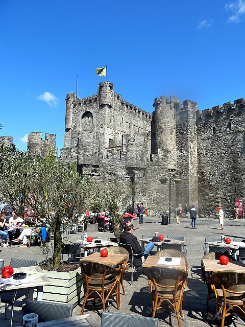 Castle from cafes