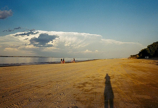 Distant storm coming our way!
