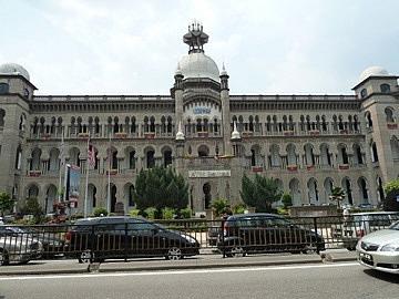 KTM Malaysian rail building