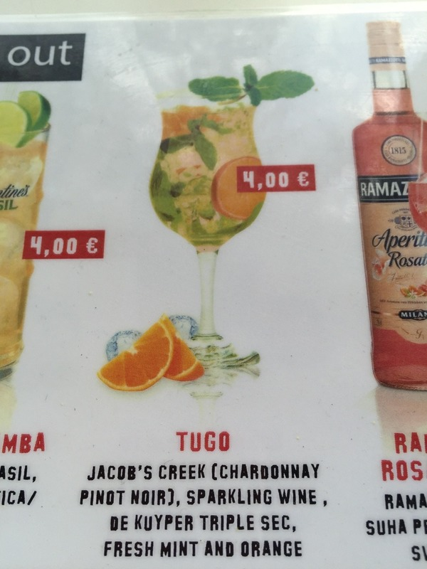 Tugo drinks