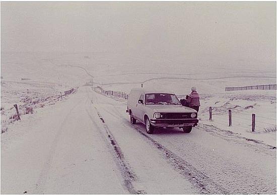 Blissard & icy roads