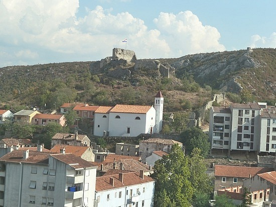 Town and castle we passed