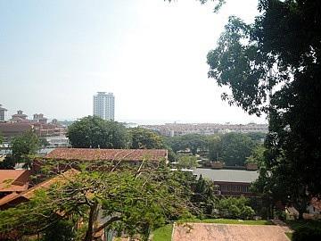 View over Straits of Melaka