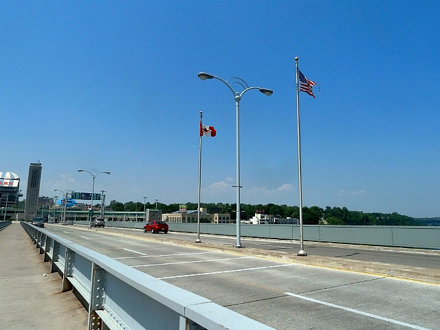 Flags on the border