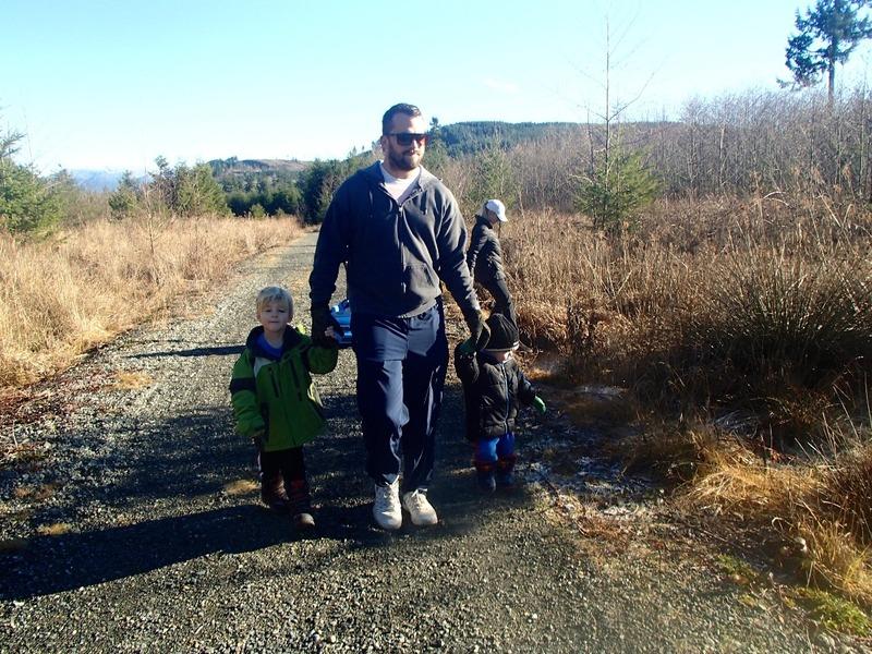 Hiking the Railway trail