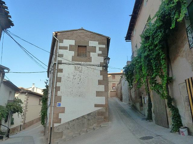 Passing through a village
