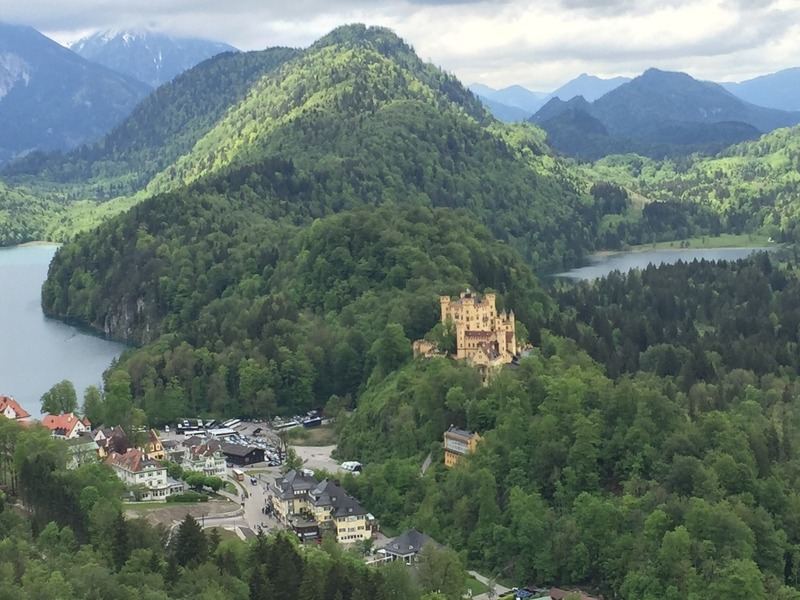 View over Hohenschwangau Castle