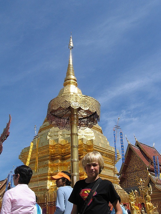 Nath at the wat