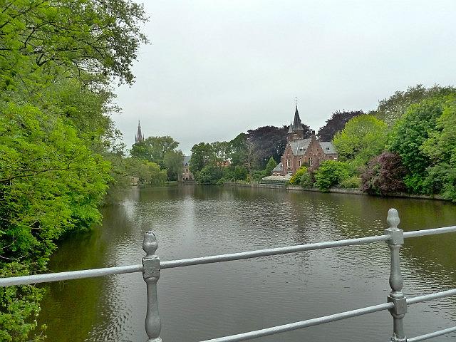 River through Bruge