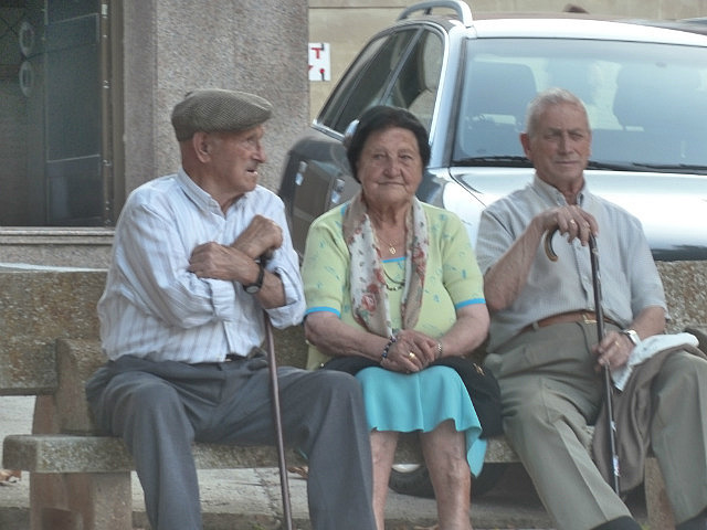 Cute old locals