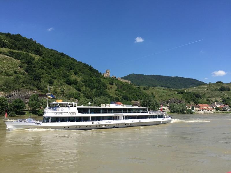 Danube River boats
