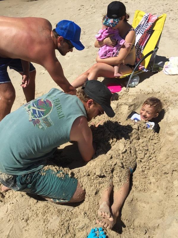 Uncle Nathan burying Benaiah
