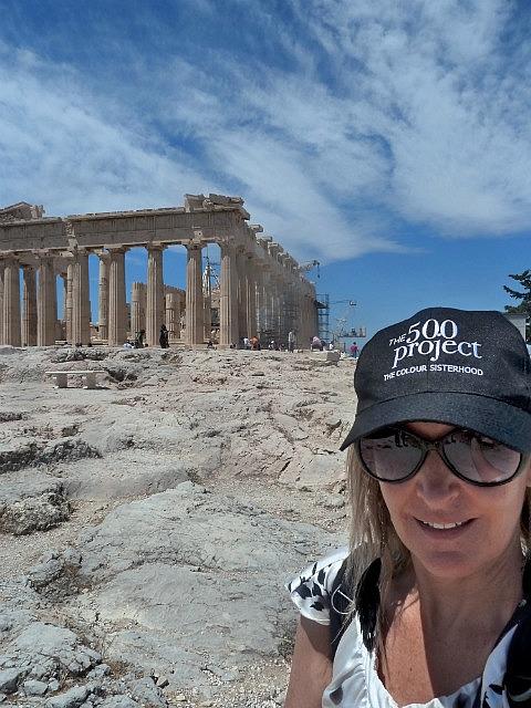 Selfie at Parthenon