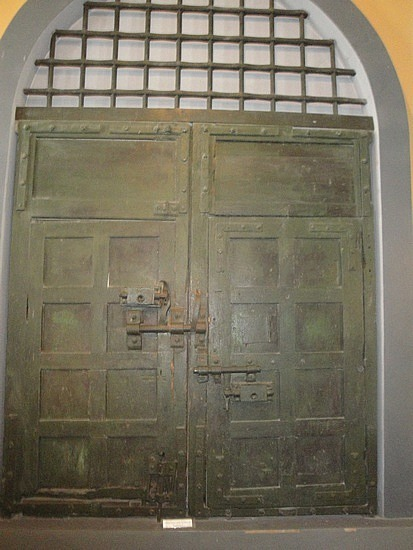 Door in the jail