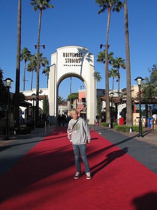 Nath at Universal Studios