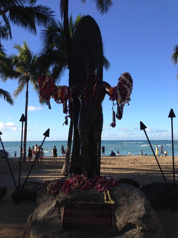 Beachfront Statue