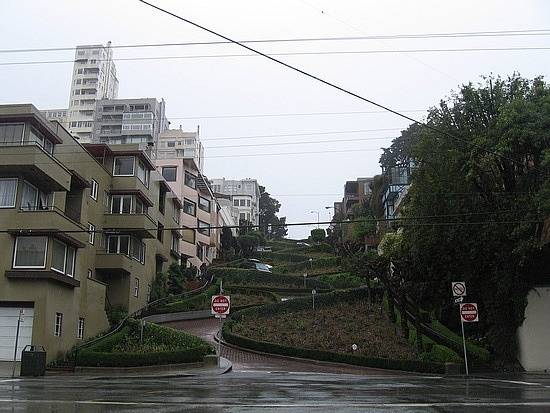 Curved street