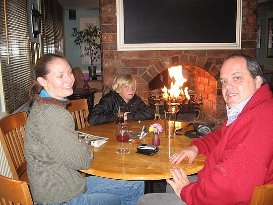"""With Stephen & Michele at his local """" The West End"""