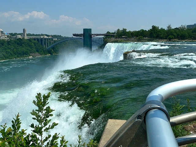 So close to the water - American Falls