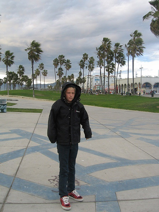 Nath at Venice Beach