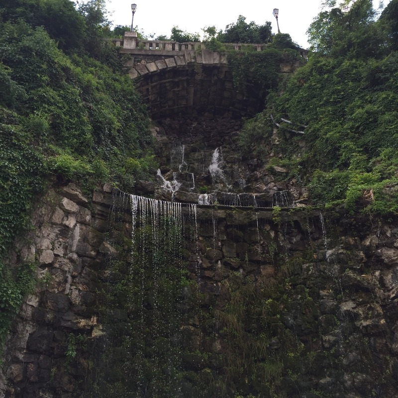 Waterfall from Citadelle