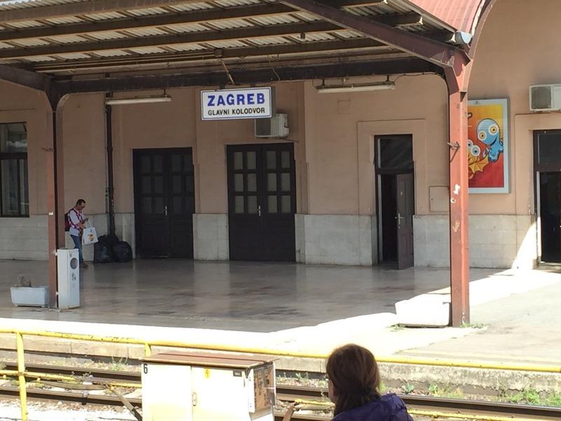 Zabgreb station in Croatia