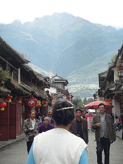 Old Town Street towards mountain
