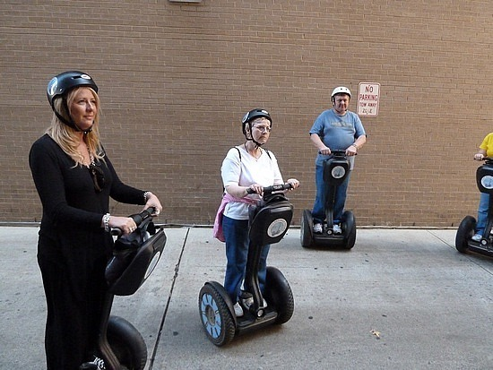 Learning to ride the segways