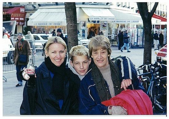 Paris with Mum & Michael
