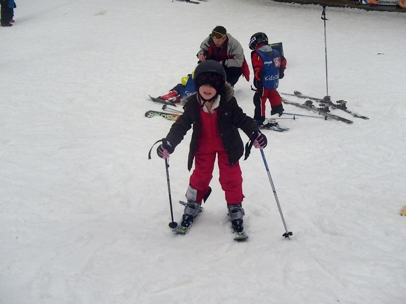 Alaiya at ski school