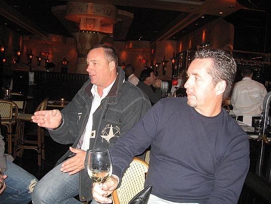 Brad & Mark at Cheesecake Factory