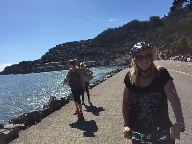 Leigh at Sausalito