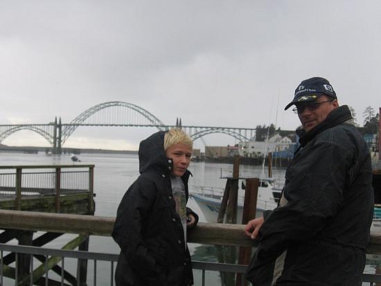 Brad & Nath in Newport