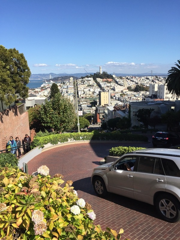 Lombard Street - worlds crookedest street