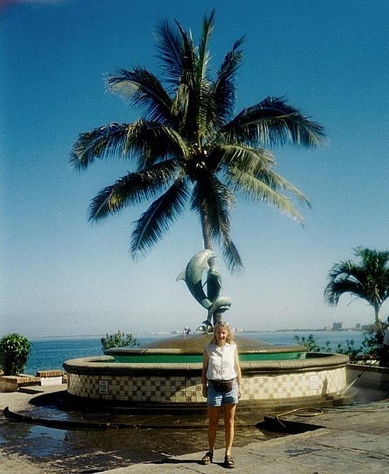 Me on the Malecon boardwalk