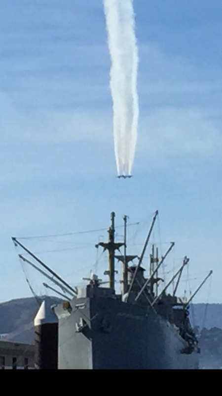 Amazing airshow that went on for a couple of hours