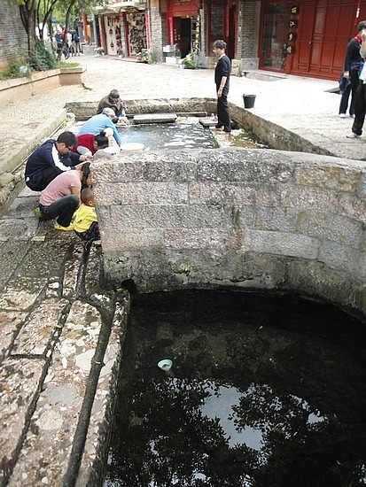 # Well Pit - this is drinking water