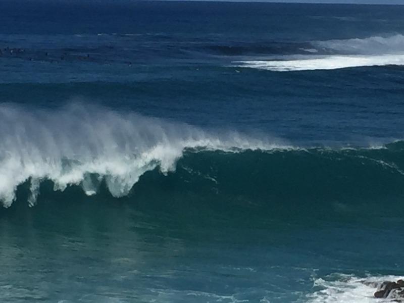 Chunky waves