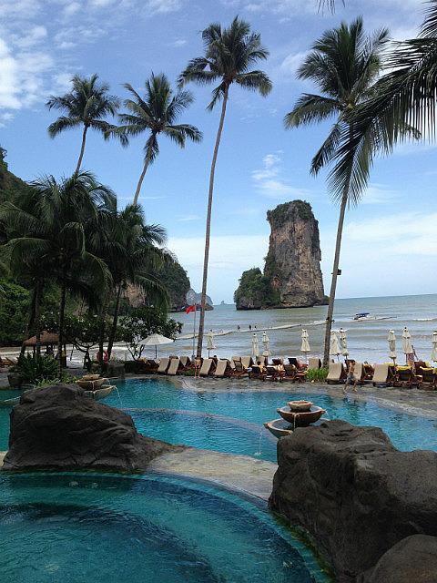 Pool view hangout