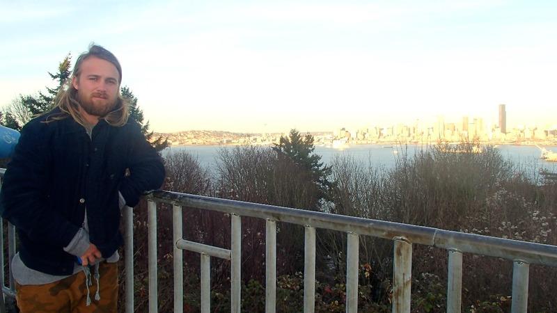 Nick and city views
