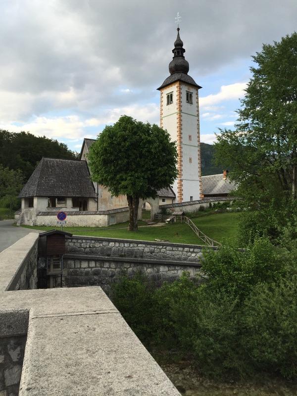 Church in Bohinjska 1700's