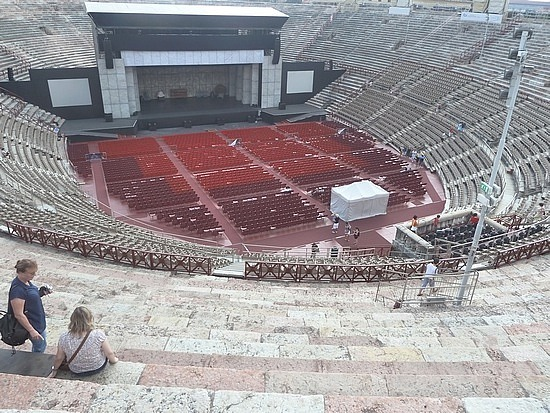 Top of arena