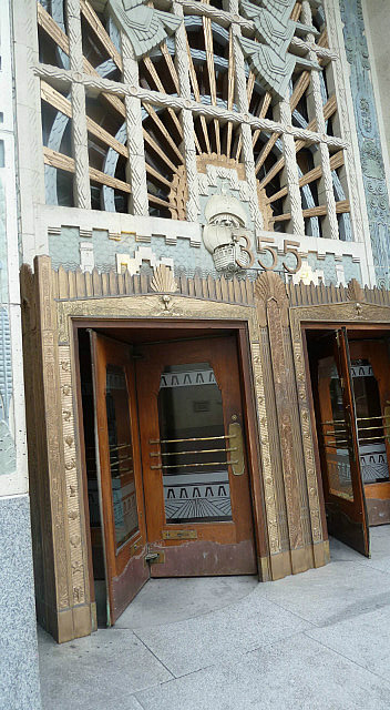 Marine Building - in the superman movies