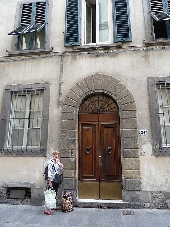 Front Door of Davids Inn Hostel